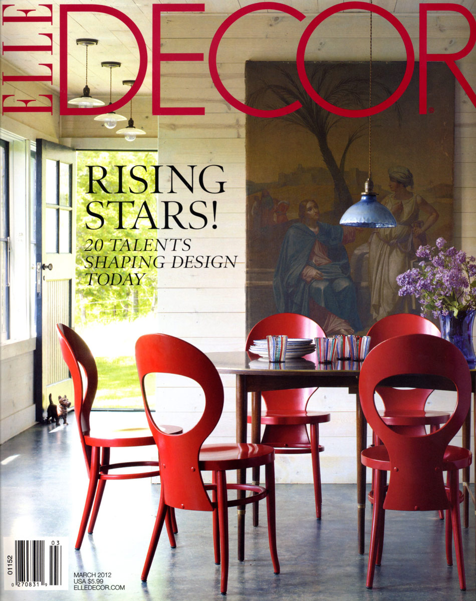 ELLE DECOR - March 2012