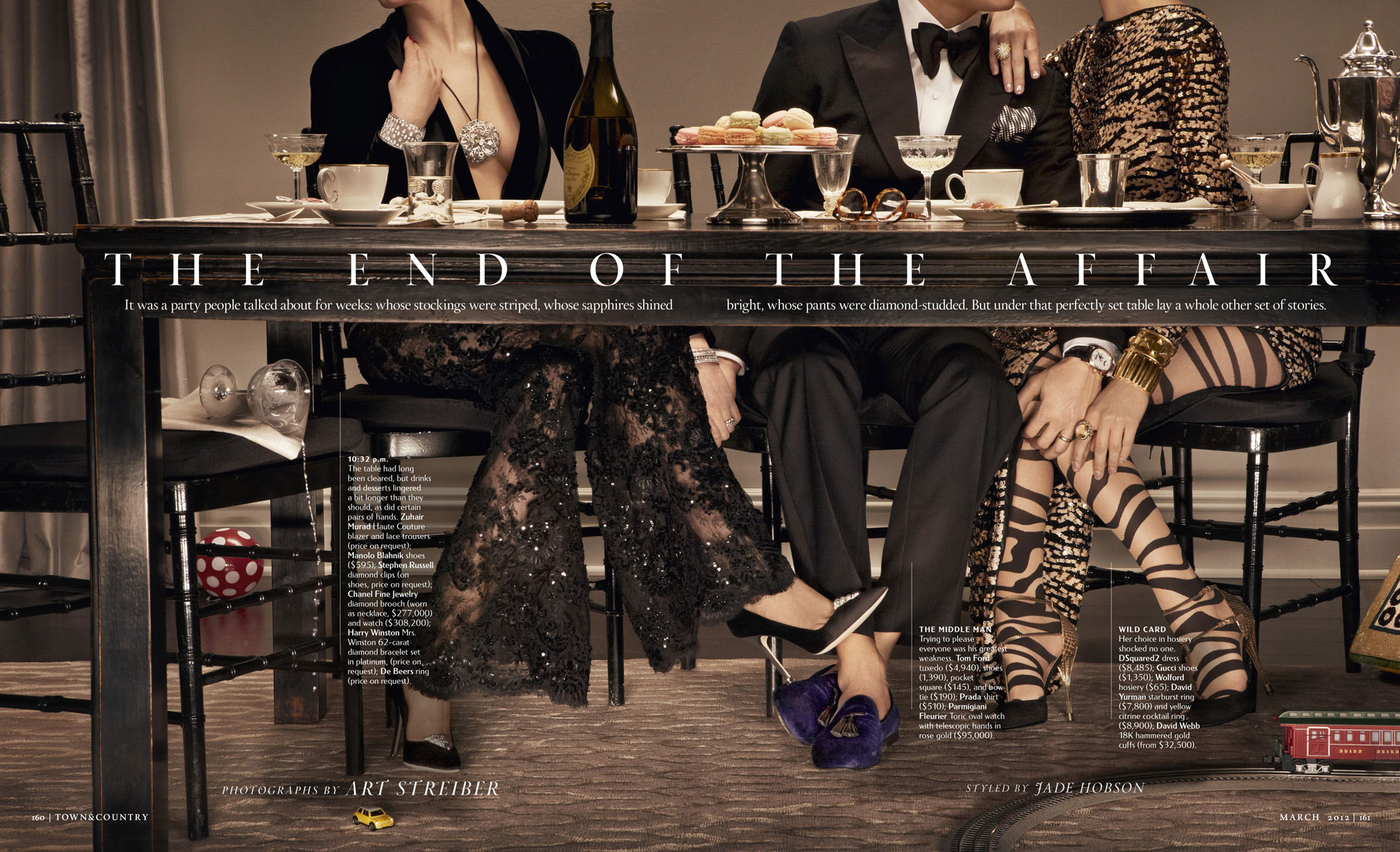 TOWN & COUNTRY - March 2012