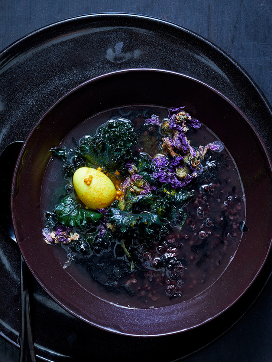 black_rice_black_kale_quail_egg_dana_gallagher0007-2